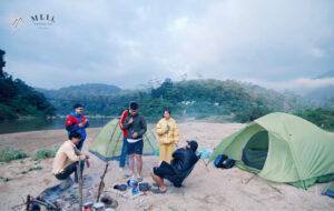 Cắm trại camping măng đen meli homestay
